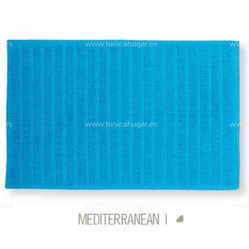 Alfombrilla de Baño New Plus de Sorema Mediterranean Alf.Baño 50x70