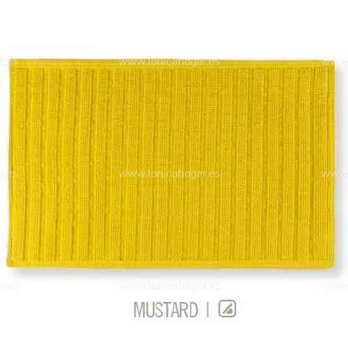 Alfombrilla de Baño New Plus de Sorema Mustard Alf.Baño 50x70