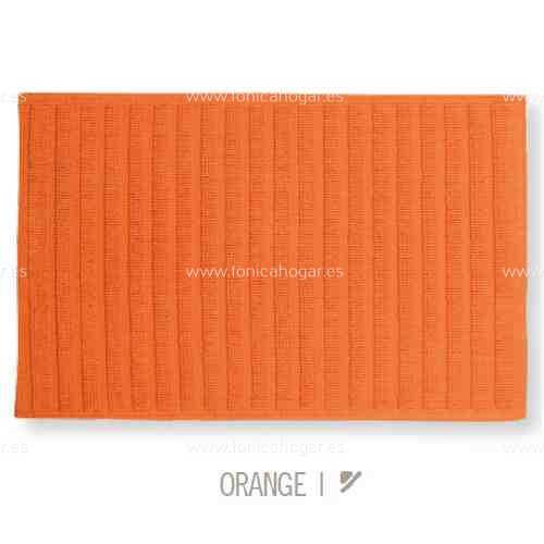 Alfombrilla de Baño New Plus de Sorema Naranja Alf.Baño 50x70