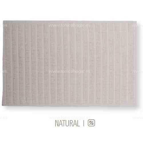 Alfombrilla de Baño New Plus de Sorema Natural Alf.Baño 50x70