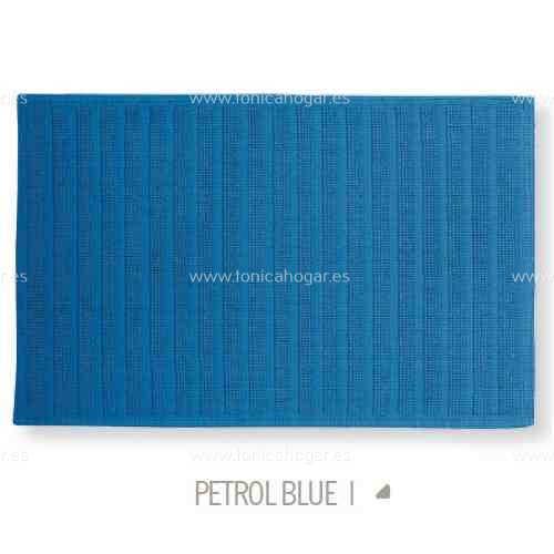Alfombrilla de Baño New Plus de Sorema Petrol Blue Alf.Baño 50x70