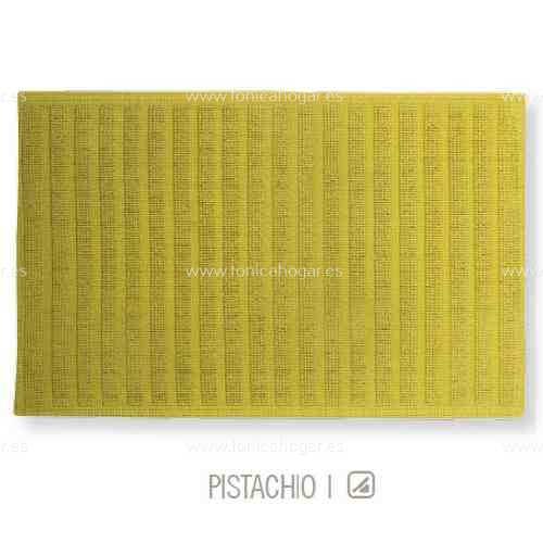 Alfombrilla de Baño New Plus de Sorema Pistacho Alf.Baño 50x70