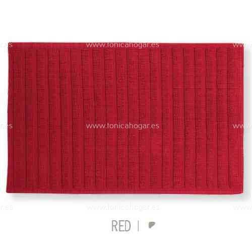 Alfombrilla de Baño New Plus de Sorema Rojo Alf.Baño 50x70