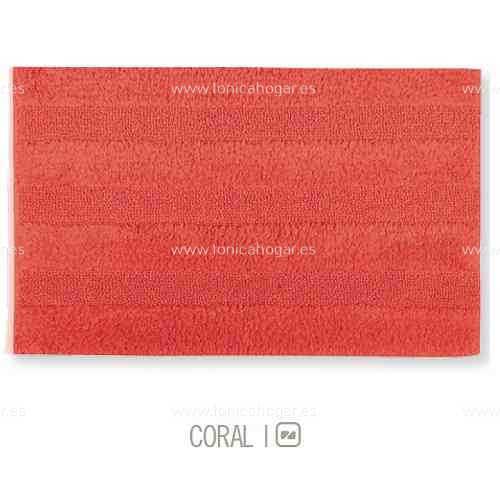 Alfombra de Baño New Plus de Sorema Coral Alf.Baño 50x70 Alf.Baño 60x90 Coral Coral Alf.Baño 70x120
