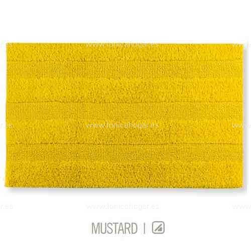 Alfombra de Baño New Plus de Sorema Mustard Alf.Baño 50x70 Mustard Alf.Baño 60x90 Mustard Alf.Baño 70x120