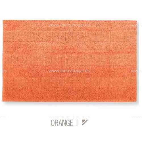 Alfombra de Baño New Plus de Sorema Naranja Alf.Baño 50x70 Naranja Alf.Baño 60x90 Naranja Alf.Baño 70x120