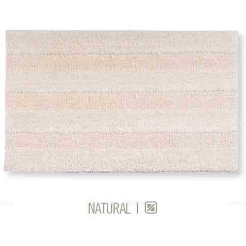 Alfombra de Baño New Plus de Sorema Natural Alf.Baño 50x70 Natural Alf.Baño 60x90 Natural Alf.Baño 70x120