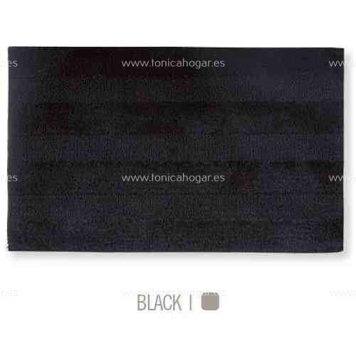 Alfombra de Baño New Plus de Sorema Negro Alf.Baño 50x70 Negro Alf.Baño 60x90 Negro Alf.Baño 70x120