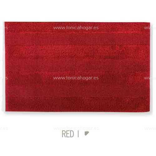 Alfombra de Baño New Plus de Sorema Rojo Alf.Baño 50x70 Rojo Alf.Baño 60x90 Rojo Alf.Baño 70x120