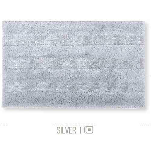 Alfombra de Baño New Plus de Sorema Silver Alf.Baño 70x120