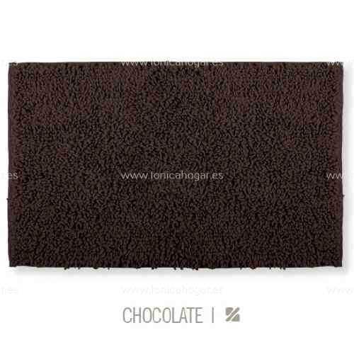 Alfombrilla de Baño New Plus de Sorema Chocolate Alf.Baño 50x70