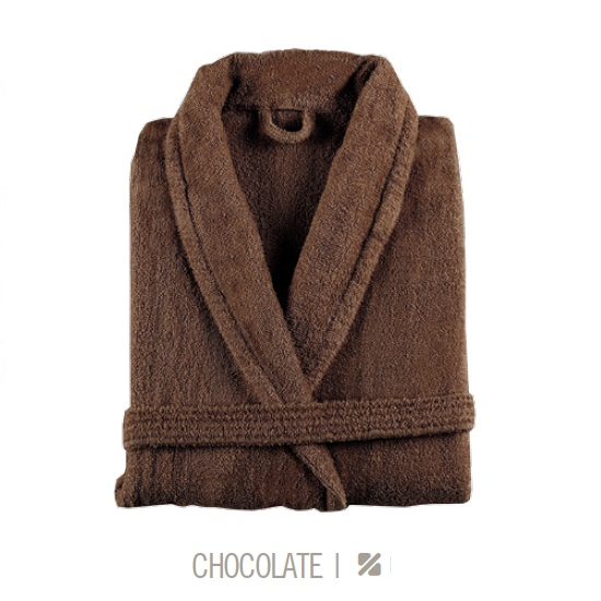 Albornoz de Baño NEW PLUS de Sorema Chocolate Talla L/XL
