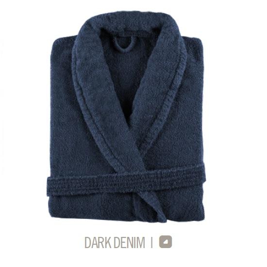 Albornoz de Baño NEW PLUS de Sorema Dark Denim Talla L/XL