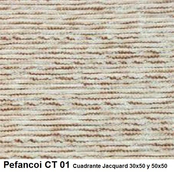 Cojín Jacquard Pefancoi CT de Reig Marti. Camel Cojín 30x50 Camel Cojín 50x50
