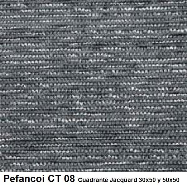 Cojín Jacquard Pefancoi CT de Reig Marti. Plomo Cojín 30x50 Plomo Cojín 50x50