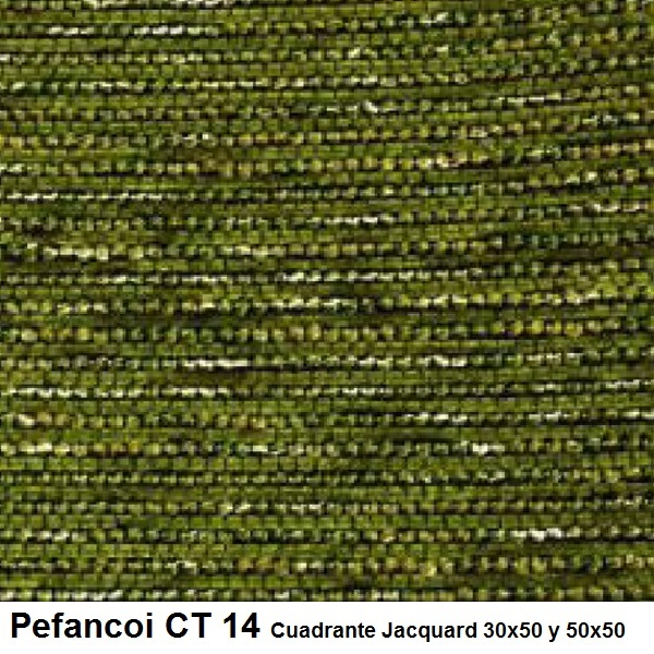 Cojín Jacquard Pefancoi CT de Reig Marti. Verde Cojín 30x50 Verde Cojín 50x50