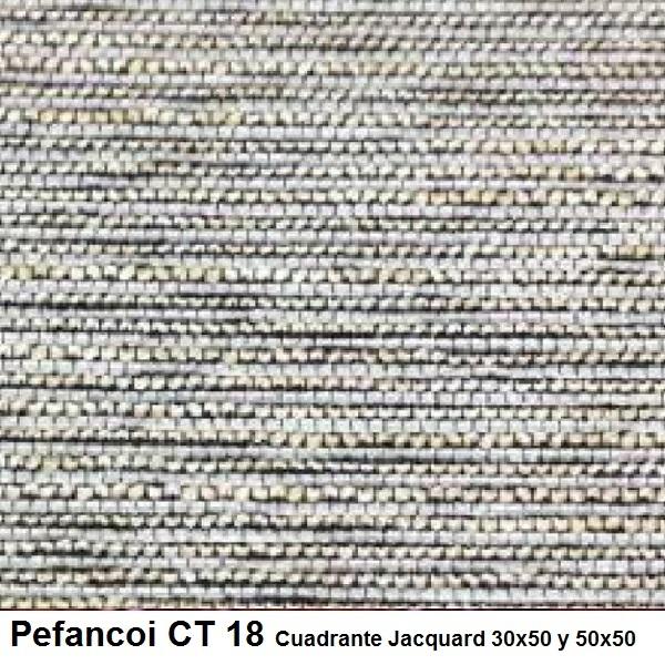 Cojín Jacquard Pefancoi CT de Reig Marti. Perla Cojín 30x50 Perla Cojín 50x50