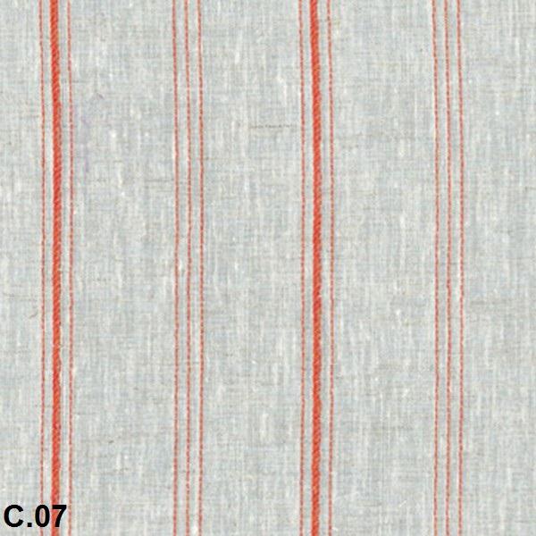 Metraje visillo Planck Reig Marti Naranja Tela Alto 310