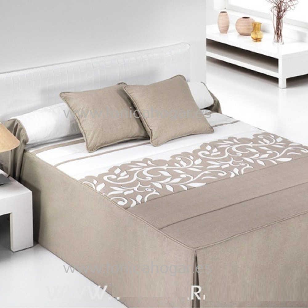 Colcha Edredón REGAL 01 de Reig Marti Lino 090 Lino 105 Lino 135 Lino 150