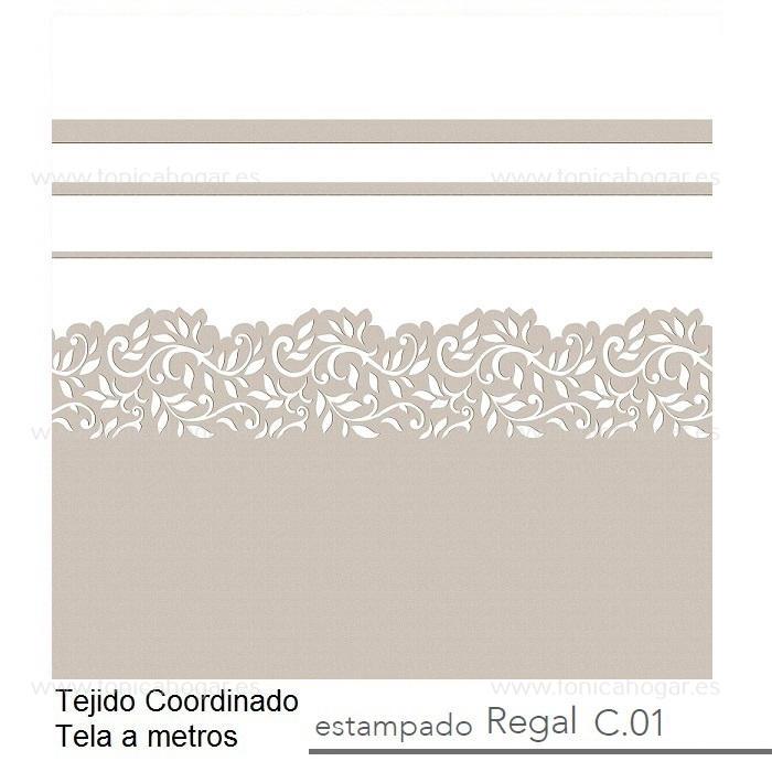 Tejido REGAL MT de Reig Marti Lino Tela Alto 280