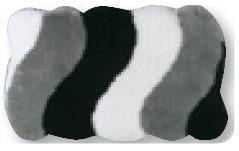 Alfombra de Baño Rio de Sorema Gris Alf.Baño 60x100