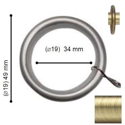 ANILLA CAVALLIER de ALTRAN Cuero Diámetro 19 mm