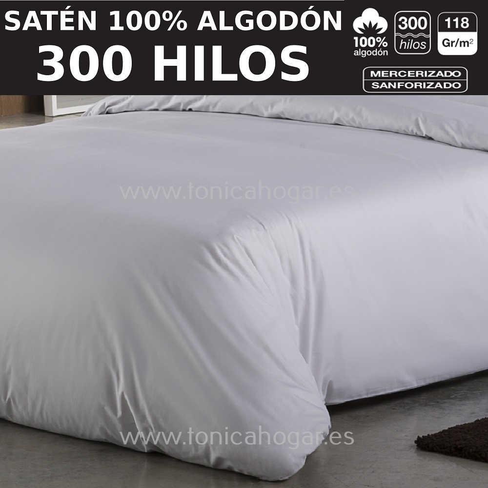 Tejido SATEN de ES-TELA Blanco Tela Alto 300