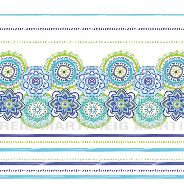 Colcha boutie Surat 2P de Reig Marti Azul 150