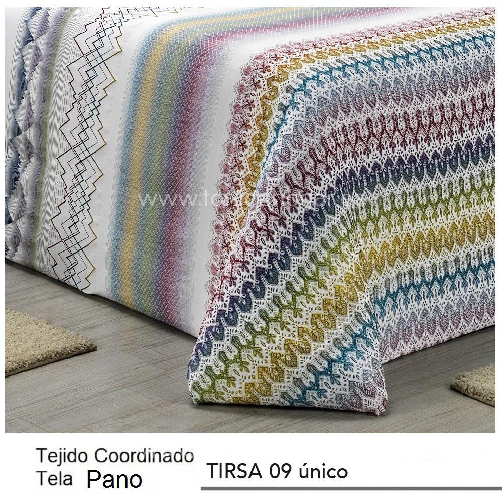 Tejido Pano Jacuard TIRSA PANO Multicolor de CAÑETE Multicolor Tela 280x280