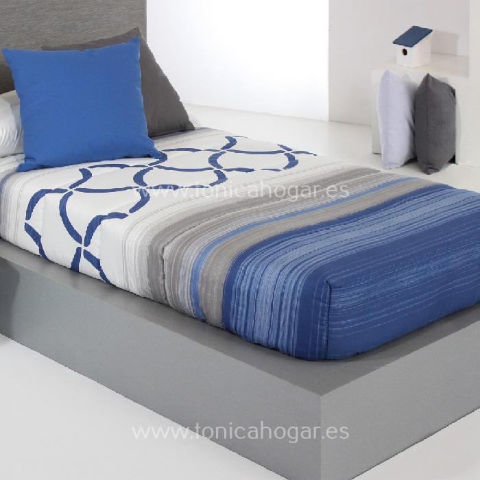 Edredón Ajustable TWIST AG Azul de Reig Marti Azulón 090 Azulón 105