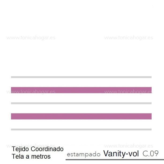 Tejido VANITY VOLANTE MT de Reig Marti Morado Tela Alto 055