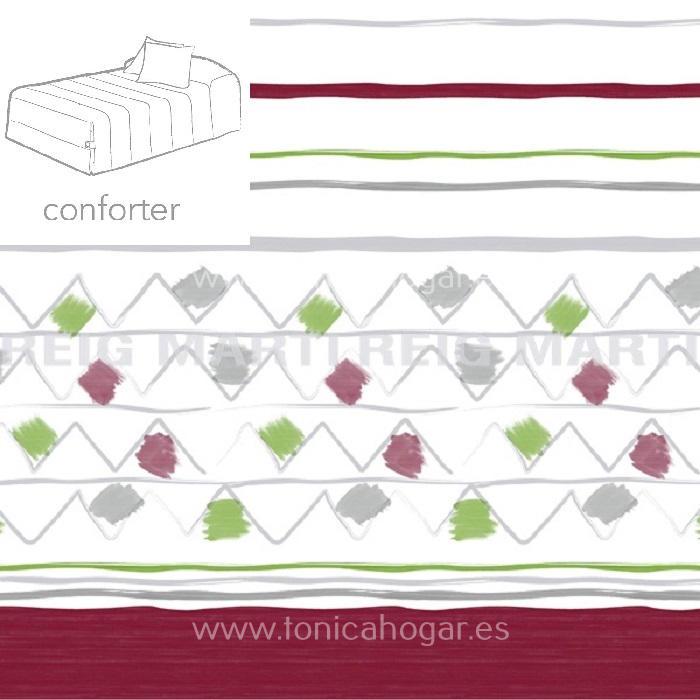 Edredón Conforter WARDA 02 de Reig Marti Fucsia 090 Fucsia 105 Fucsia 135 Fucsia 150