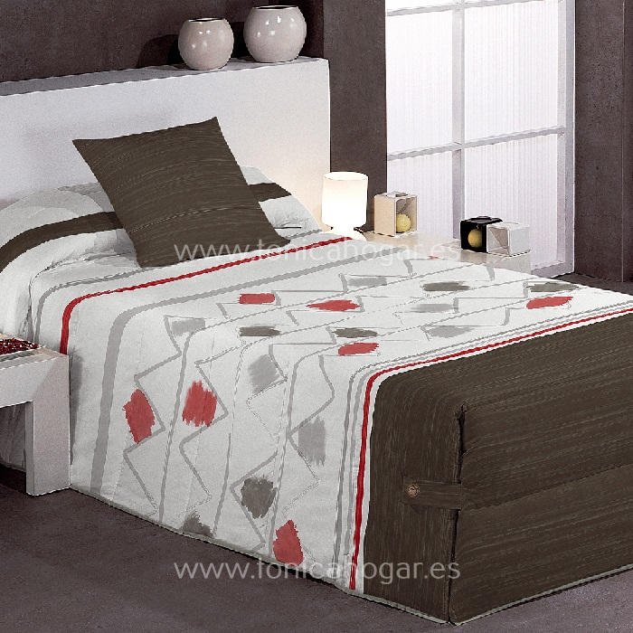 Edredón Conforter WARDA 02 de Reig Marti Gris 090 Gris 105 Gris 135 Gris 150