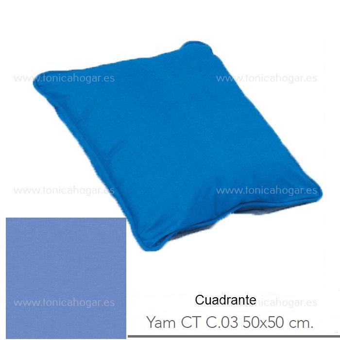 Cojín YAM CT Azul de Reig Marti Azul Cojín 50x50