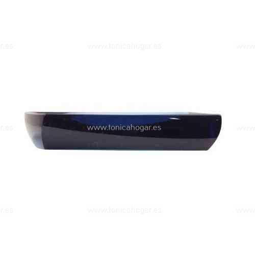 Accesorios de Baño TRANSPARENT ACB de Sorema Petrol Blue JABONERA