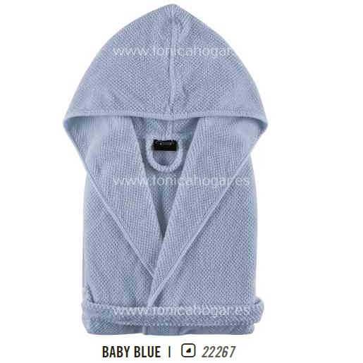 Albornoz de Baño BEE WAFFLE BABY & CHILD AB de Graccioza Baby Blue Talla 2-3 Años Baby Blue Talla 4-5 Años Baby Blue Talla 6-7 Años
