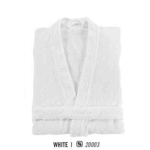Albornoz de Baño BEE WAFFLE KIMONO AB de Graccioza White Talla M White Talla L White Talla XL
