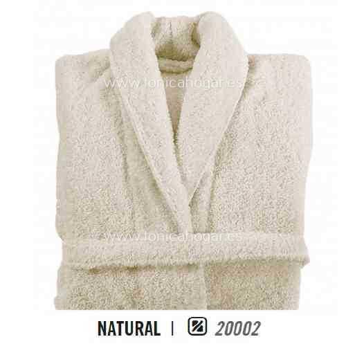 Albornoz de Baño LONG DOUBLE LOOP AB de Graccioza Natural Talla M Natural Talla L Natural Talla XL