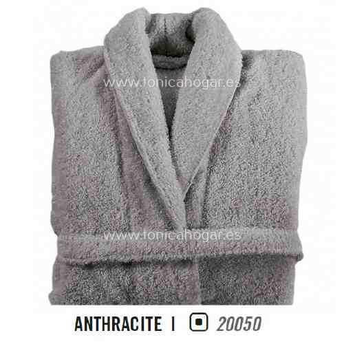 Albornoz de Baño LONG DOUBLE LOOP AB de Graccioza Anthacite Talla M Anthacite Talla L Anthacite Talla XL