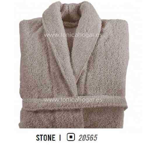 Albornoz de Baño LONG DOUBLE LOOP AB de Graccioza Stone Talla M Stone Talla L Stone Talla XL