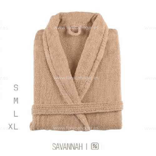 Albornoz Baño NEWPLUS AB de Sorema Savannah Talla S Savannah Talla M Savannah Talla L Savannah Talla XL