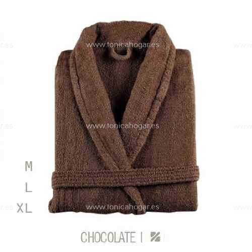 Albornoz Baño NEWPLUS AB de Sorema Chocolate Talla M Chocolate Talla L Chocolate Talla XL