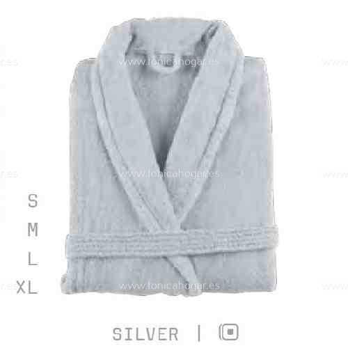 Albornoz Baño NEWPLUS AB de Sorema Silver Talla S Silver Talla M Silver Talla L Silver Talla XL