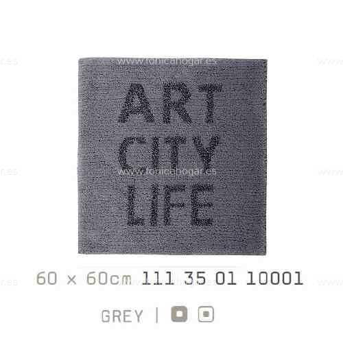 Alfombra Baño ART-CITY-LIFE AM de Sorema Gris Alf.Baño 60x60