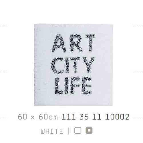 Alfombra Baño ART-CITY-LIFE AM de Sorema Blanco Alf.Baño 60x60