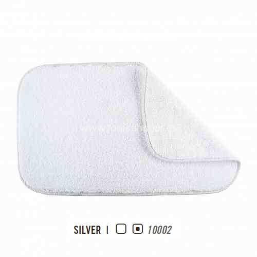 Alfombra de Baño ASPEN REVERSIBLE AM de Graccioza Silver Alf.Baño 50x80 Silver Alf.Baño 60x100