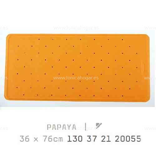 Alfombra Bañera BALI AM de Sorema Naranja Alf.Baño 36x76