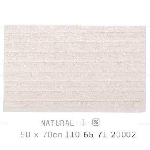 Alfombra Baño BASIC AM de Sorema Natural Alf.Baño 50x70