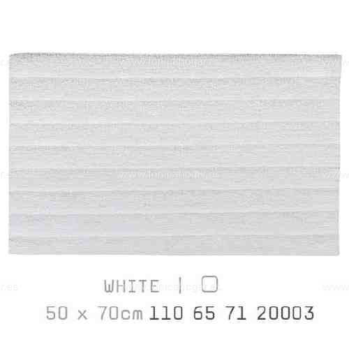 Alfombra Baño BASIC AM de Sorema Blanco Alf.Baño 50x70