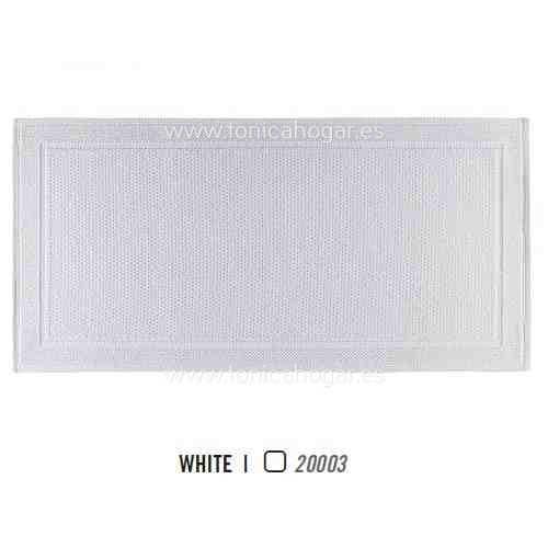 Alfombra de Baño Multiusos BEE WAFFLE AM de Graccioza White Alf.Baño 55x110 White Alf.Baño 70x140
